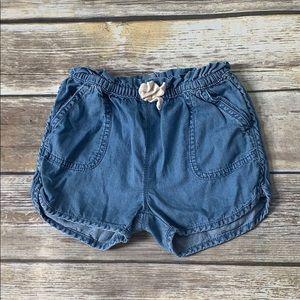 Baby Gap Chambray Shorts